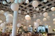 Balões são a nova tendência na decoração de casamentos
